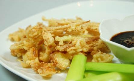 cooking with cattail tempura recipe
