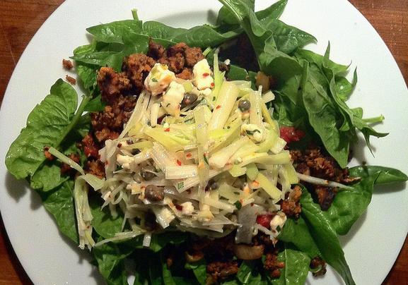 cattail salad recipe