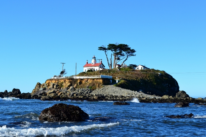 battery point lighthouse, cresent city california. the northwestforager 2015